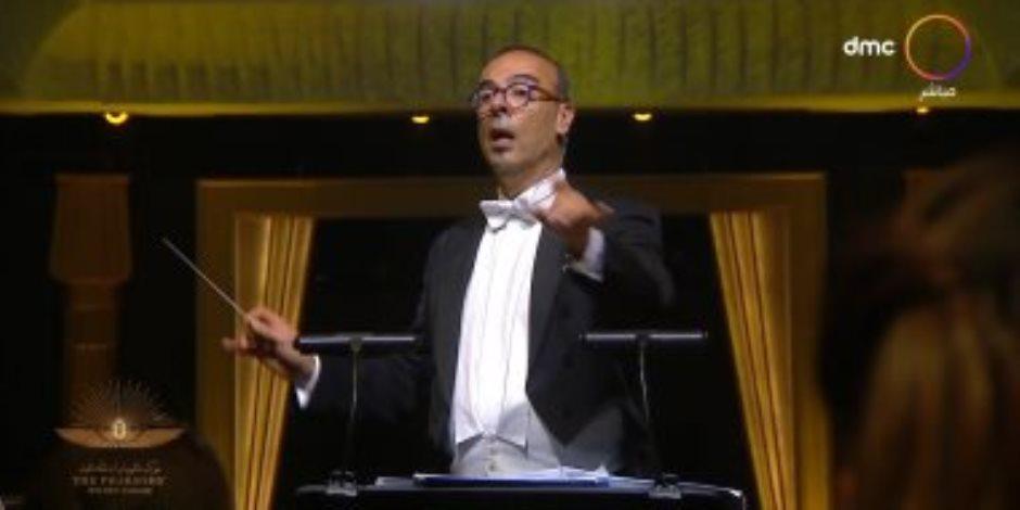 الموسيقار نادر عباسي يتحدث عن قيادة أوركسترا موكب المومياوات الملكية: مشهد تاريخي