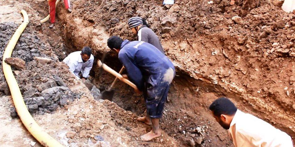 """""""حياة كريمة"""" تصل قرى بنى سويف.. فرحة كبيرة للأهالي بالمبادرة"""