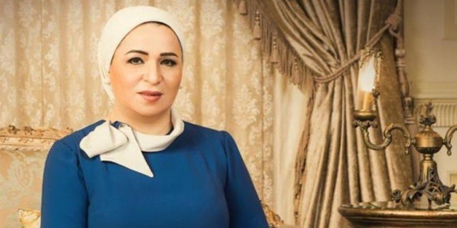 """السيدة انتصار السيسي: """"العاشر من رمضان"""" ملحمة وطنية تعكس وعي الشعب المصري"""