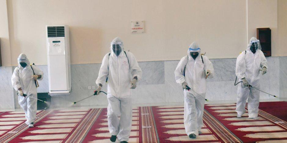 وزير الأوقاف يشكر القوات المسلحة على تعقيم المساجد.. ويؤكد: تحمى وتبنى