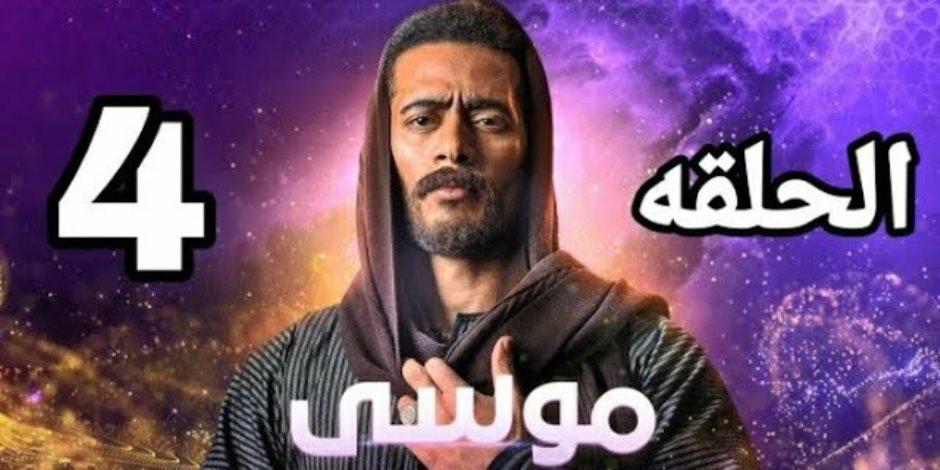 مسلسل موسى الحلقة الرابعة.. رمضان يبدأ مواجهة الإنجليز انتقاما لموت شقيقه