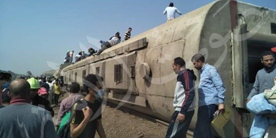 حادث قطار طوخ.. بنها الجامعي: 28 مصابا ما زالوا يتلقون العلاج