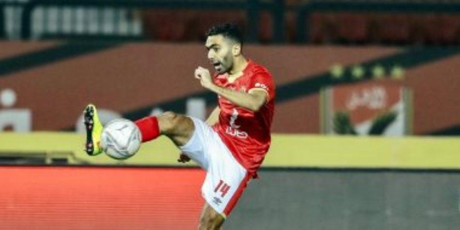 حسين الشحات يتعادل للأهلي فى مرمى سموحة بالدقيقة 33.. فيديو