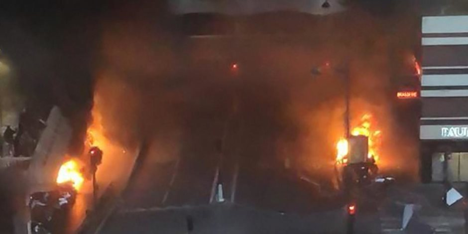 اندلاع حريق هائل بسفارة فرنسا فى إفريقيا الوسطى والسفير: هناك أضرار كبيرة