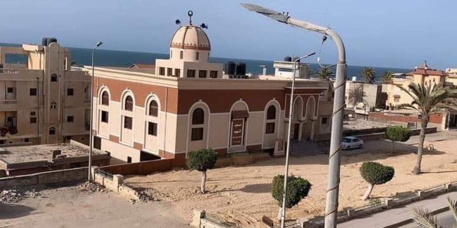 شمال سيناء تطلق احتفالات العيد القومي بافتتاح مسجد الشهيد محمد شراب بالعريش (صور)