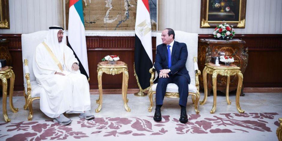 الرئيس السيسي يشدد على التزام مصر بموقفها الثابت تجاه أمن الخليج