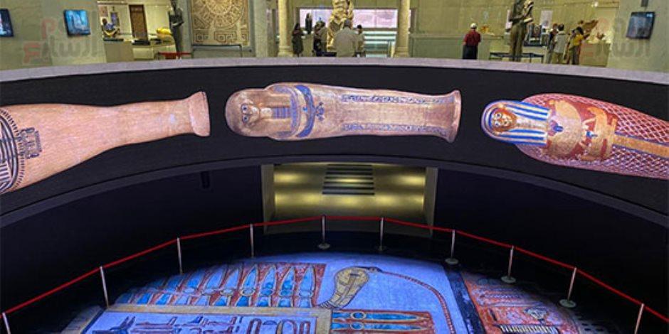 هنا الماضي والحاضر والمستقبل.. «صوت الأمة» داخل المتحف القومي للحضارة