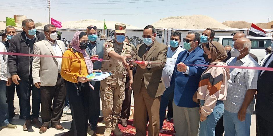 أرض الفيروز على خط التنمية.. افتتاح محطة مياه ومجمع معاهد أزهرية وإدارة تموين بوسط سيناء (صور)