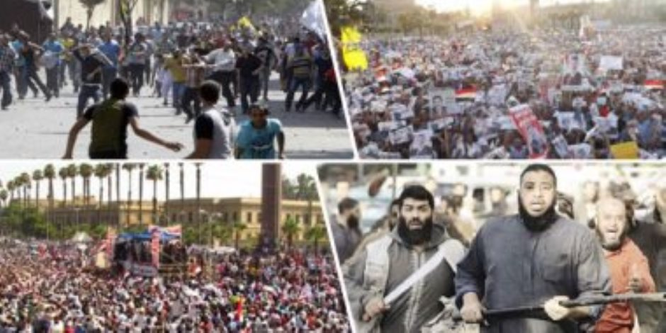 """8 سنوات على 30 يونيو.. عنف الإخوان """"بلا رجعة"""""""