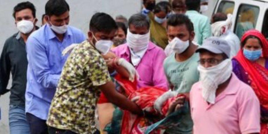 الفيروس اللعين ينهش في الهند.. ورقم صادم لوفيات كورونا