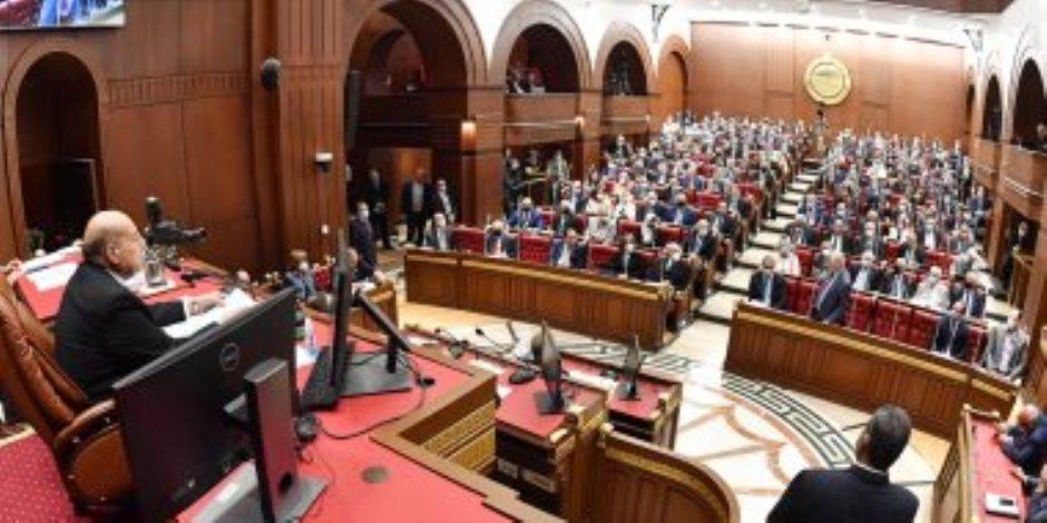 المقدم من الحكومة.. مجلس الشيوخ يوافق مبدئيا على مشروع قانون المالية الموحد