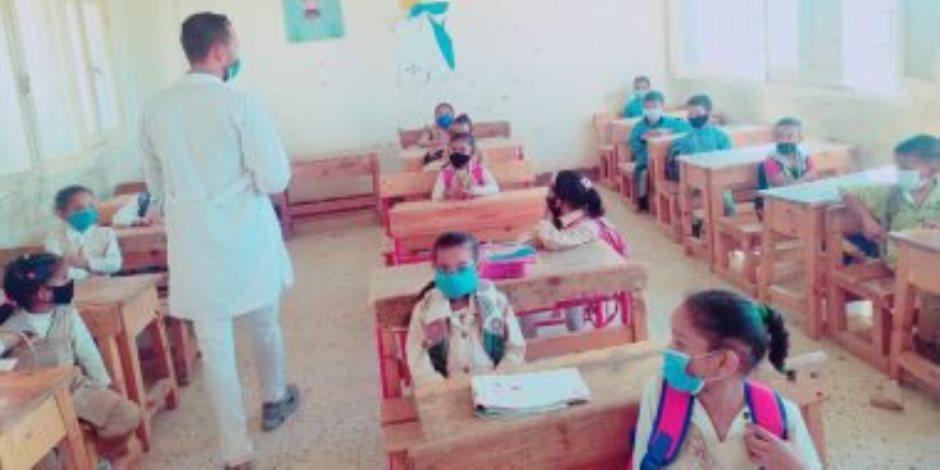 أطفال المدارس وكورونا.. حضور يومي وإجراءات وقائية