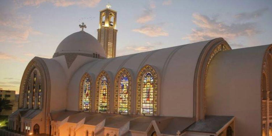 الكاتدرائية الأسقفية تبدأ قداس عيد القيامة (صور)