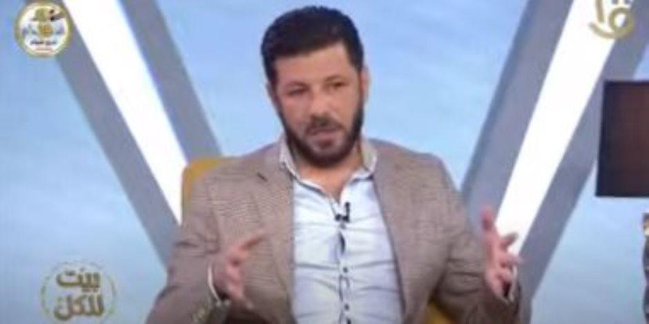 """إياد نصار لـ""""بيت للكل"""": شعرت بالفخر لتكريمى من الرئيس السيسى عن فيلم الممر"""
