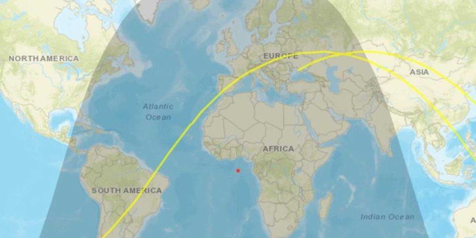 سقوط الصاروخ الصيني.. مر فوق عُمان والأردن وتفكك في بحر العرب بعد دخول الغلاف الجوي