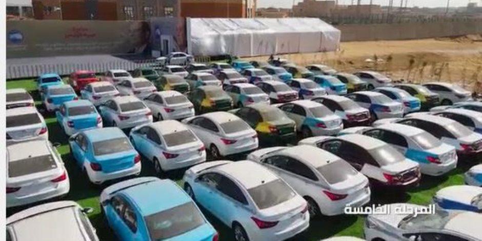 هدايا الرئيس السيسي.. مكافأة السائقين الملتزمين باستبدال سياراتهم القديمة بسيارات جديدة تعمل بالغاز
