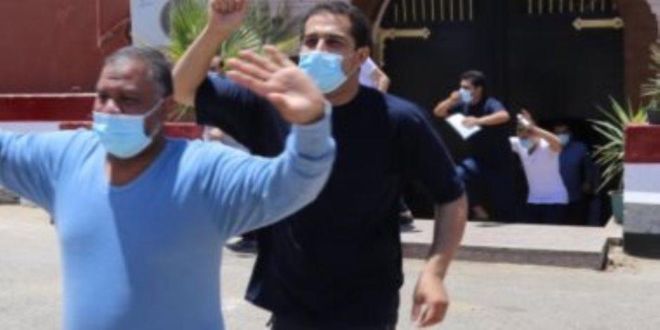 المفرج عنهم من السجون: شكرا للرئيس السيسي هنحتفل بالعيد وسط أهالينا (فيديو)