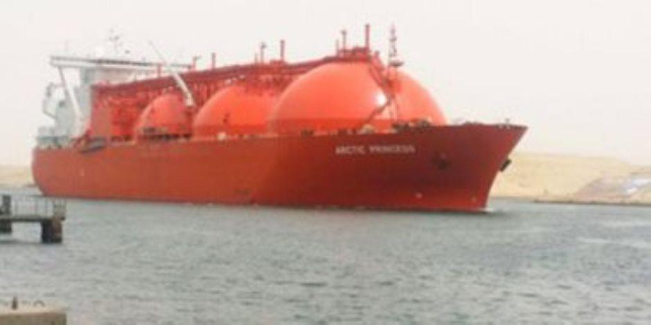 4.582 مليون طن صادرات الدول العربية من الغاز المسال إلي اليابان والصين