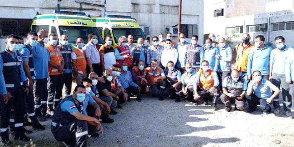 تفاصيل استعدادات القطاع الطبي لاستقبال جرحى العدوان الإسرائيلي على غزة بمستشفيات شمال سيناء (صور)