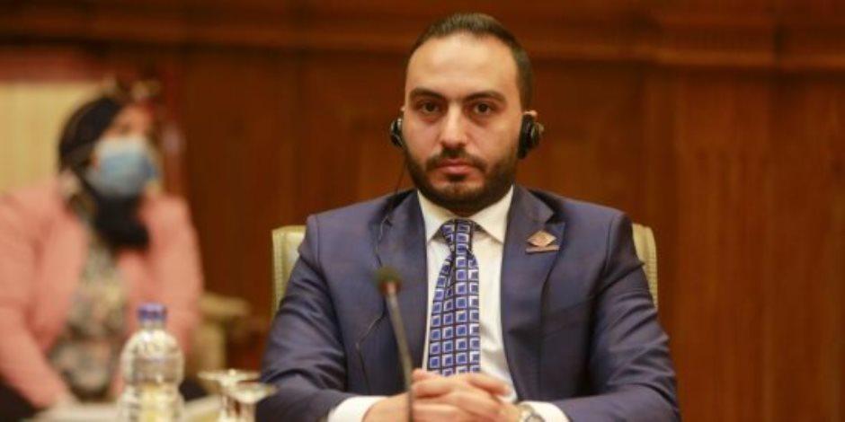 النائب محمد تيسير مطر: جرائم إسرائيل ضد الشعب الفلسطيني انتهاك صارخ لمواثيق حقوق الإنسان
