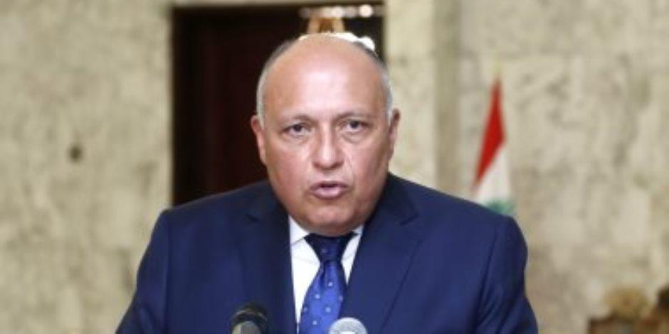 وزير الخارجية: مصر والسودان سيواجهان أى ملء أحادى للسد الإثيوبى بكل حزم