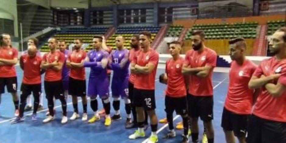 منتخب مصر يهزم موريتانيا 8-1 فى انطلاق البطولة العربية للصالات