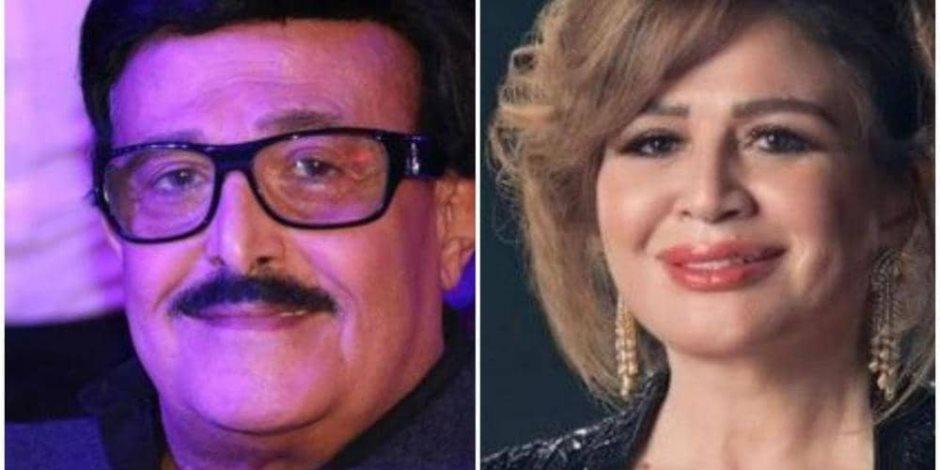 أول رد من إلهام شاهين بعد الهجوم عليها بسبب حفل الزفاف ورحيل سمير غانم