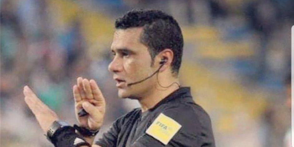 مباراة الزمالك والمصري.. فاز الحكم محمود البنا