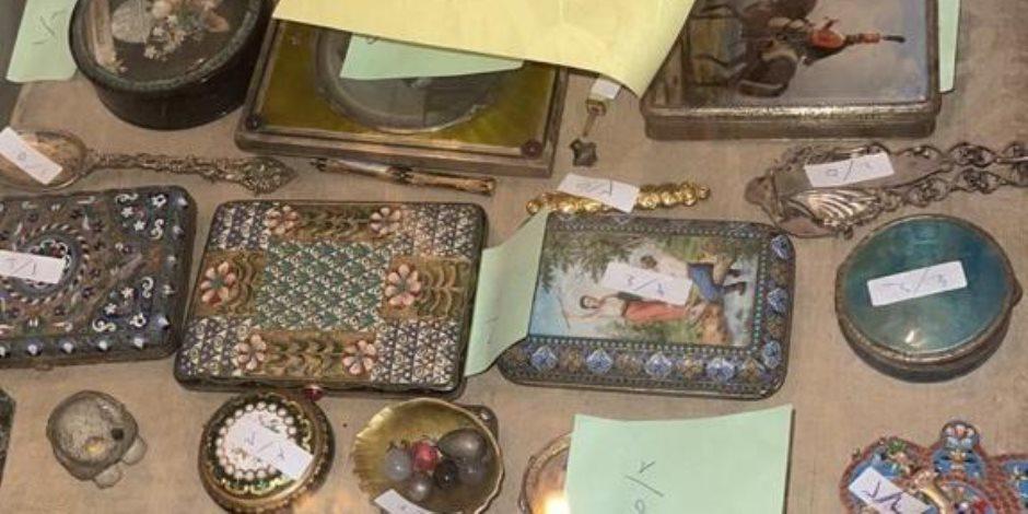 """""""دهب ياقوت مرجان"""".. حكم مدنى بـ 10 ملايين جنيه يقود إلى مجوهرات وتحف أثرية.. ولجان الفحص تعلن التفاصيل خلال أيام"""