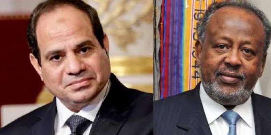 زيارة تاريخية وعلاقات وطيدة... الرئيس السيسي في جيبوتي (صور)