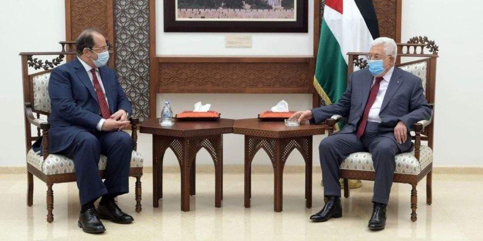 أبو مازن واللواء عباس كامل يتفقان على عقد اجتماعات للفصائل الفلسطينية فى القاهرة