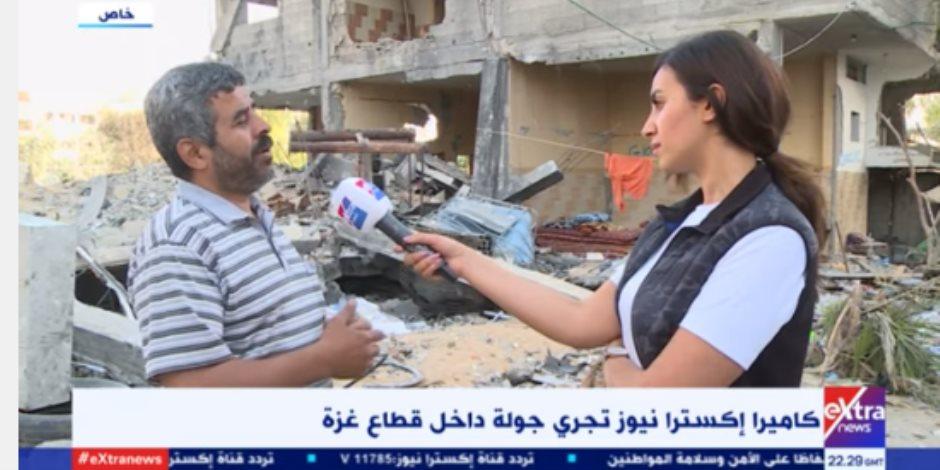 الإعلام المصري في قلب الحدث.. غزة على خُطى التجربة المصرية في البناء (فيديو)