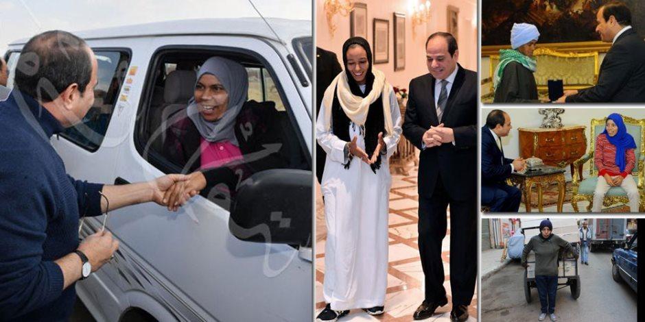 7 سنوات في ظل الرئيس.. السيسي جابر الخواطر