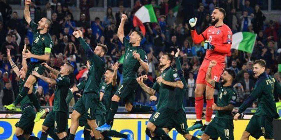افتتاح يورو 2020.. إيطاليا لا تعرف الهزيمة على الأولمبيكو قبل لقاء تركيا