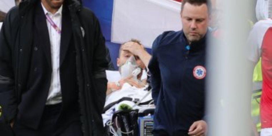 تقارير: لاعب منتخب الدنمارك على قيد الحياة.. وتكتم رسمي بشأن حالته