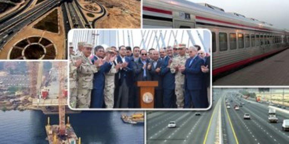 30 يونيو.. انجازات ومشروعات قومية غيرت خريطة كفر الشيخ (فيديو وصور)