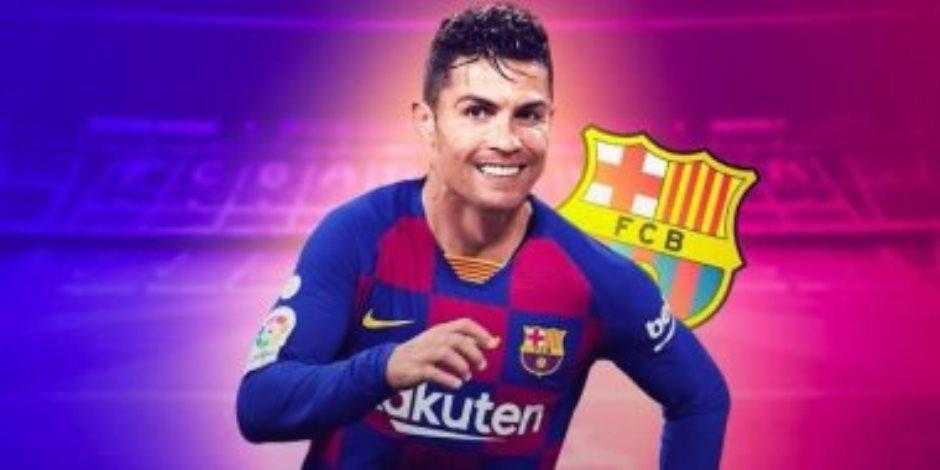 صفقة القرن.. رئيس برشلونة يخطط لضم رونالدو مع ميسي