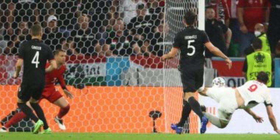 """يورو 2020.. منتخب المجر يباغت ألمانيا بالهدف الأول فى الدقيقة 11 """"فيديو"""""""