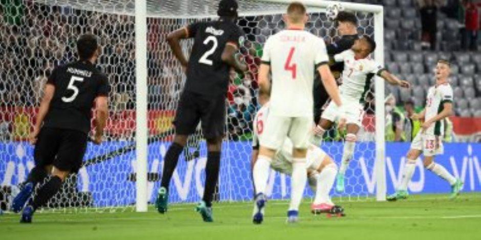 بعد مرور 80 دقيقة  ..منتخب المجر يتفوق على ألمانيا 2 - 1 فى يورو 2020.. فيديو