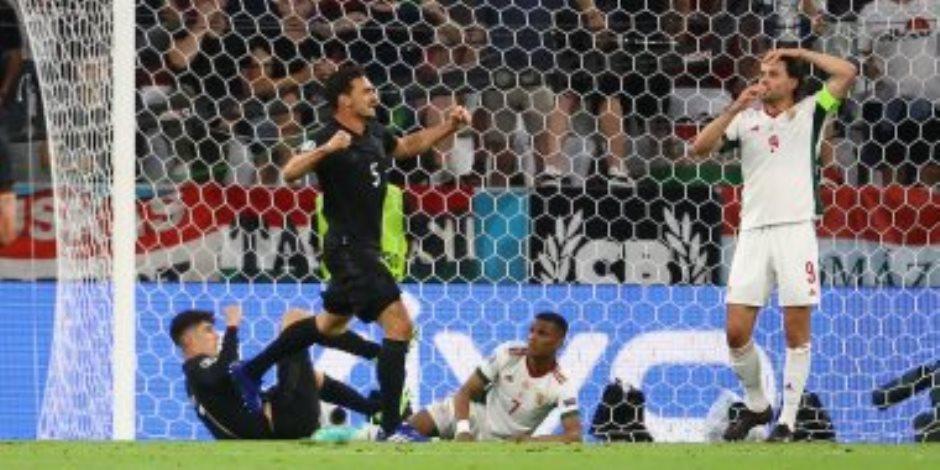 يورو 2020.. منتخب ألمانيا يتعادل مع المجر فى الدقيقة 84