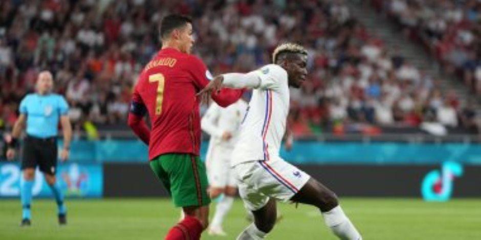 بعد مباراة مثيرة .. تعادل البرتغال وفرنسا 2 - 2 .. الديوك تتصدر المجموعة والبرتغال في المركز الثالث