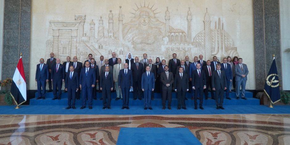 وزير الداخلية يستقبل وفد أعضاء لجنة الدفاع والأمن القومي بمجلس النواب (فيديو)