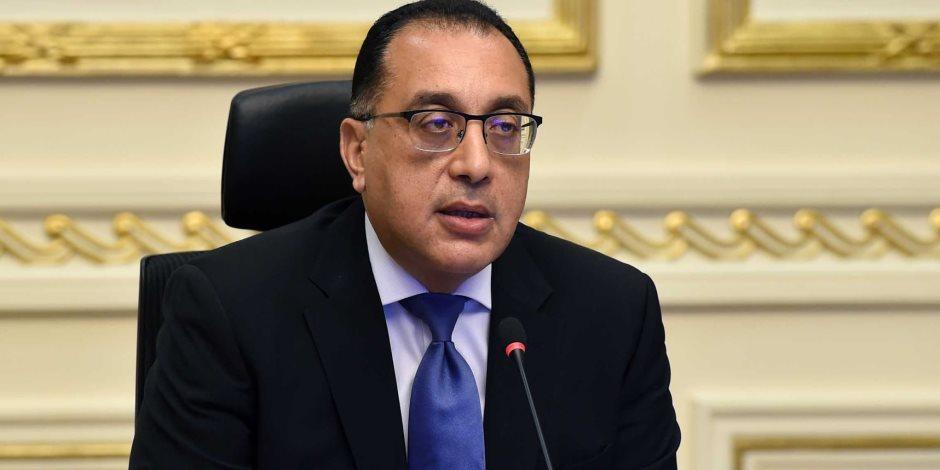 رئيس الوزراء يستقبل نائب الرئيس البرازيلى بمطار القاهرة