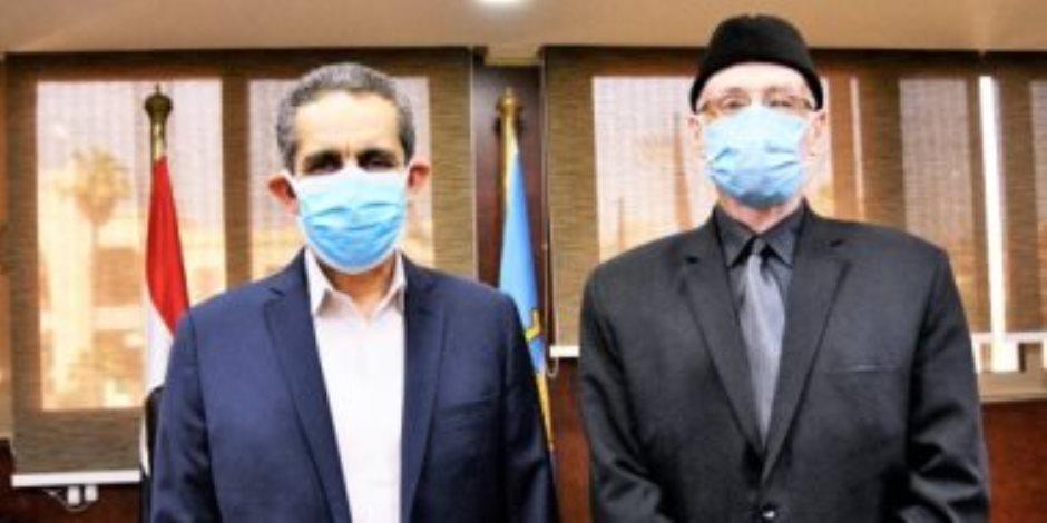 محافظ الغربية: فتح المجازر بالمجان للمواطنين طوال أيام عيد الأضحى المبارك
