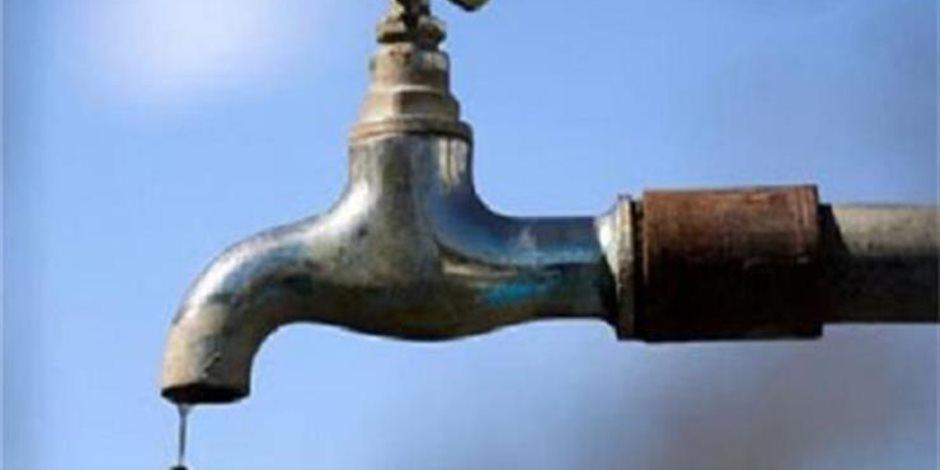 محافظة الجيزة تعلن قطع المياه 8 ساعات عن بعض المناطق غدا