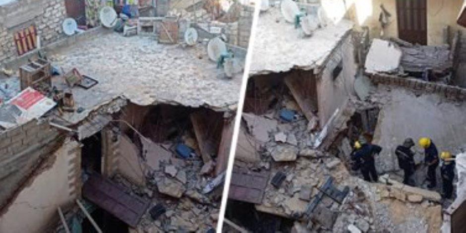 انتشال الجثث والبحث عن المفقودين.. تفاصيل انهيار عقار مكون من 3 طوابق بالإسكندرية