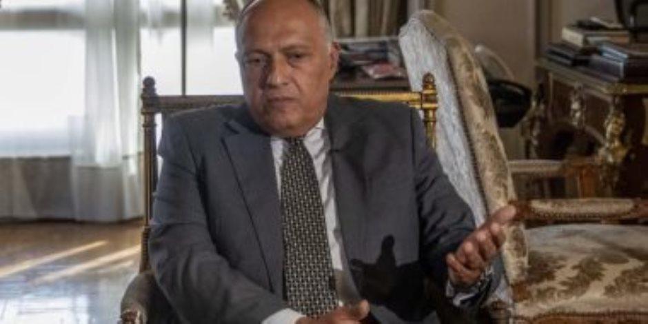 وزير الخارجية: أكدنا لإثيوبيا استعدادنا لقبول السد ورفضت التعامل بإيجابية