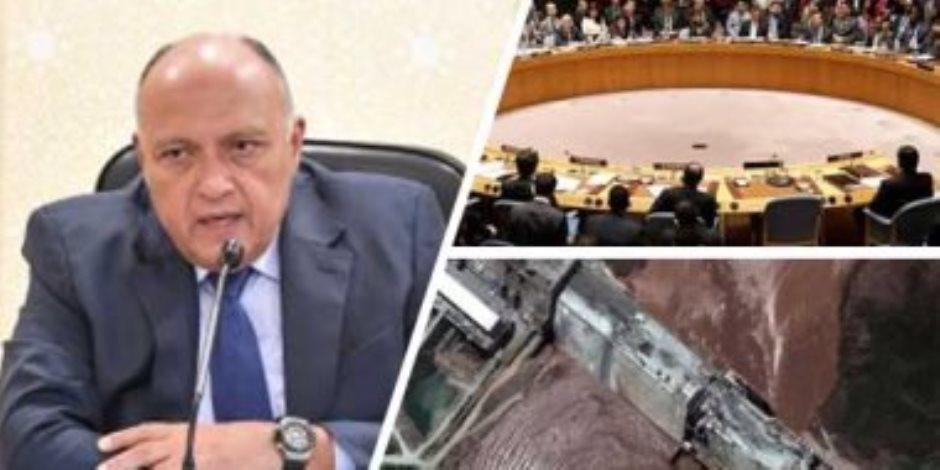 مندوب مصر بالأمم المتحدة: مسار مجلس الأمن لحل قضية سد النهضة ليس الوحيد