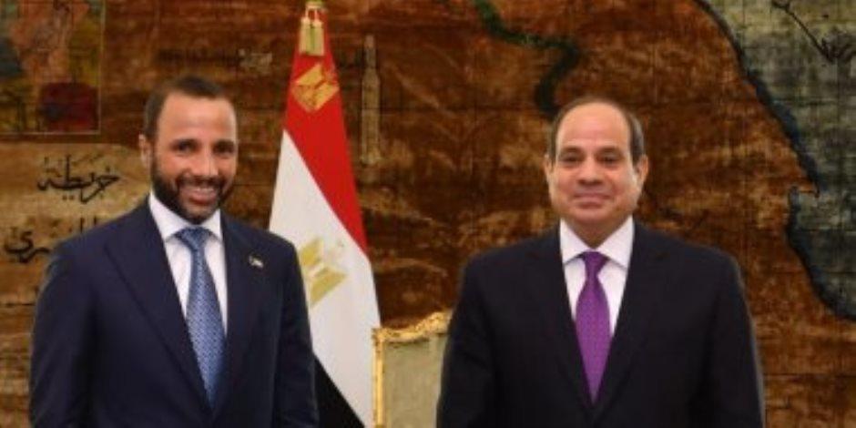 الرئيس السيسى لرئيس مجلس الأمة الكويتى: أمن الخليج مرتبط بأمن مصر القومي