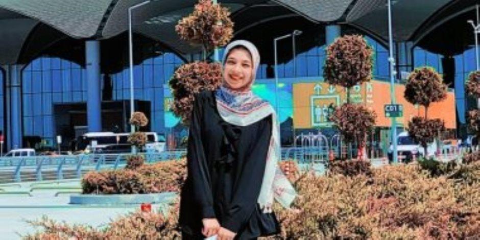 """حفظت القرآن الكريم فى الثانية عشرة من عمرها.. """"حورية"""" موهبة صاعدة فى سماء الإنشاد الدينى"""